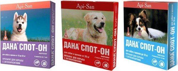 Дана Спот-он для собак