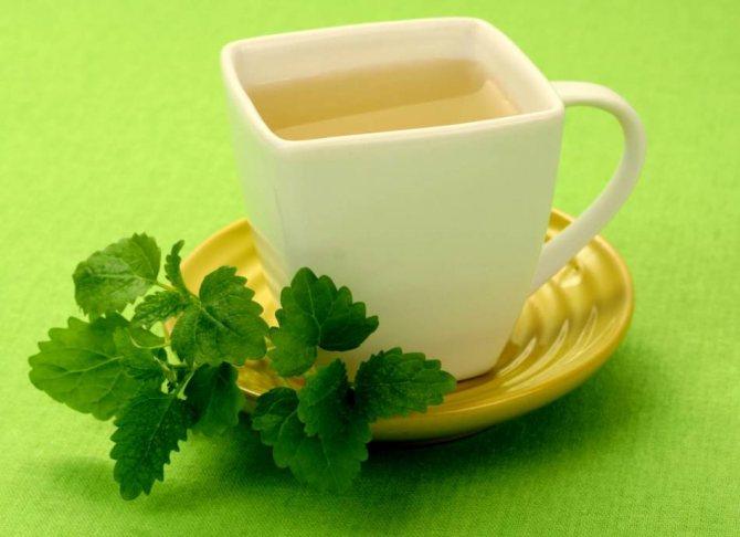 Добавляйте в свой напиток по желанию листья мяты или лимон