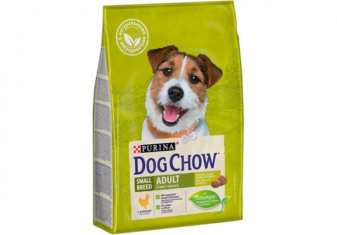 Dog Chow - другой рацион от Пурины