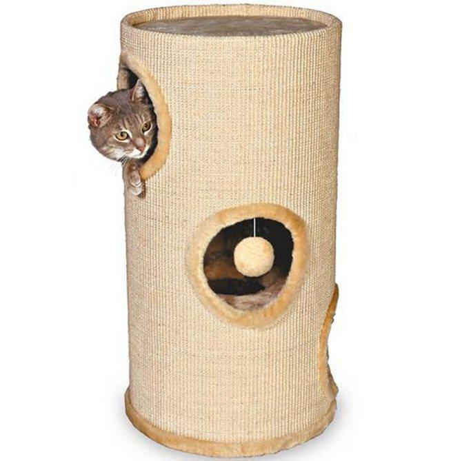 Дом-когтеточка для кошки Trixie «Samuel»
