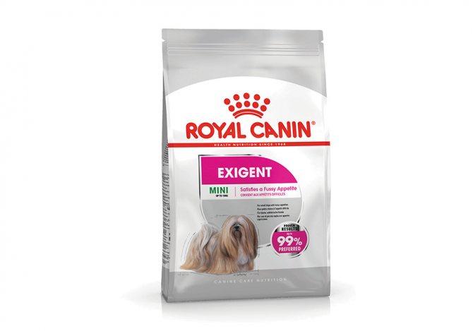 Exigent (Эксиджент) – для собак, привередливых в питании