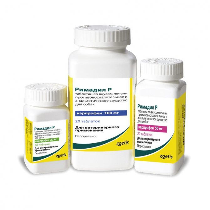 Форма выпуска препарата Римадил