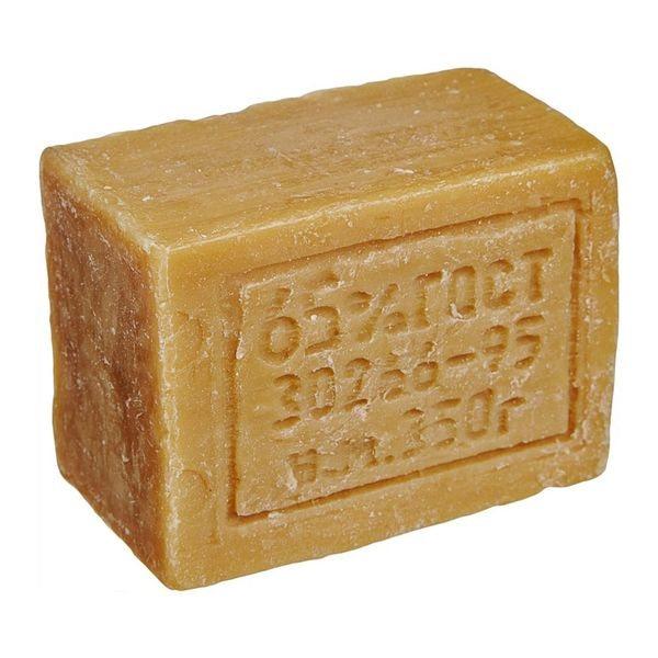 хозяйственным мылом