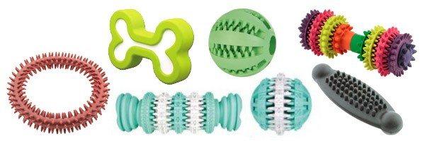 Игрушки для чистки зубов собак