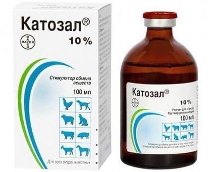 Катозал: ветеринарный стимулирующий раствор для инъекций