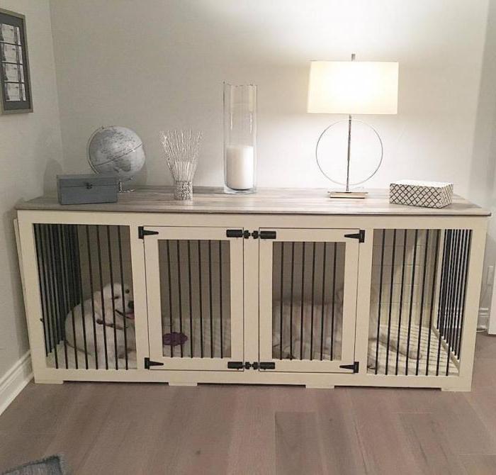 клетка для собаки в квартиру своими руками