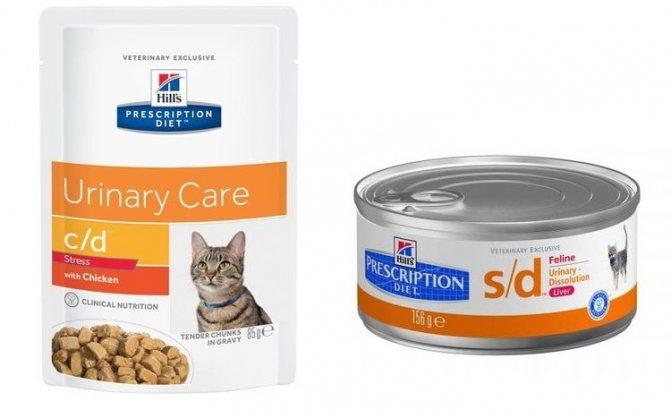 Корм для кошек Hill's Prescription Diet™ Feline s/d при МКБ