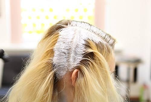 Корректирующее окрашивание волос