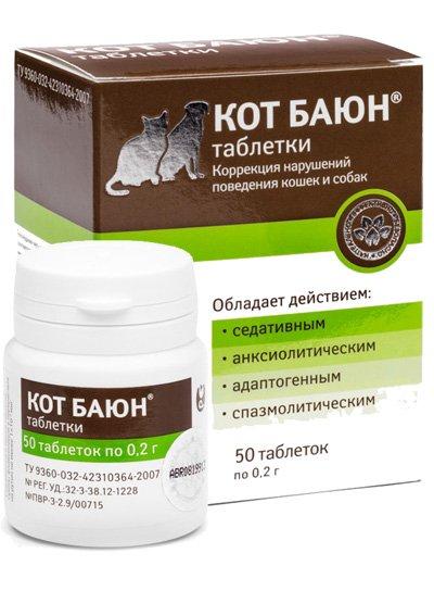 Кот Баюн для кошек (таблетки и настой): инструкция по применению, особенности, отзывы и цена