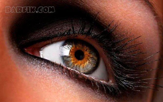Люди с редким цветом глаз существуют, и они живут среди нас