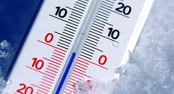На фото: термометр
