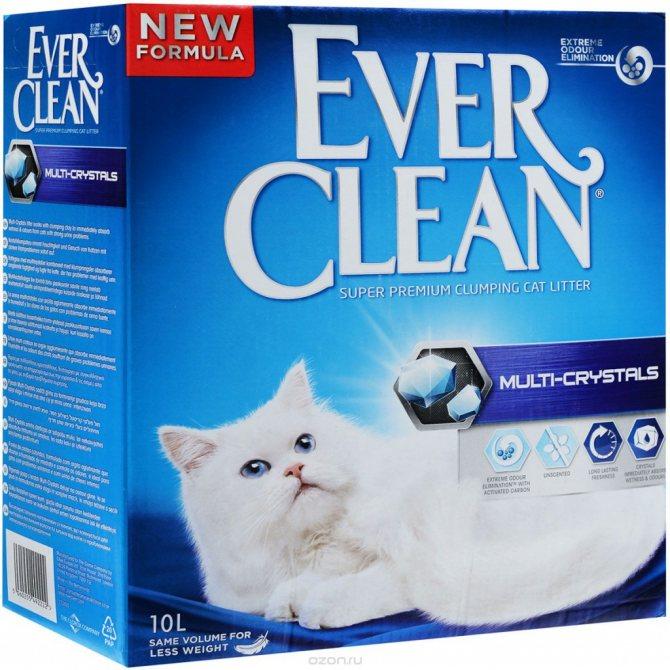 Наполнитель кошачьего туалета Ever Clean