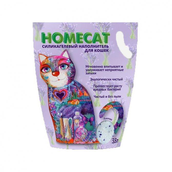 Наполнитель кошачьего туалета Homecat