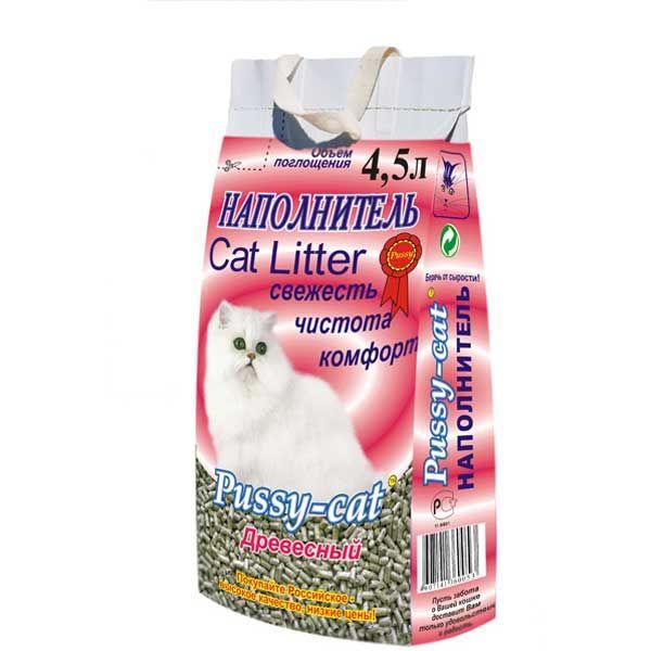 Наполнитель кошачьего туалета Pussy-Cat