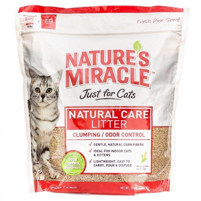 Nature's Miracle дает положительный результат