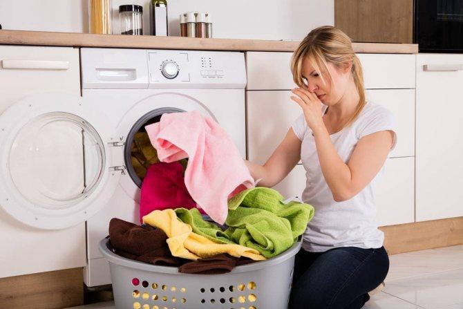 Неприятный запах от одежды