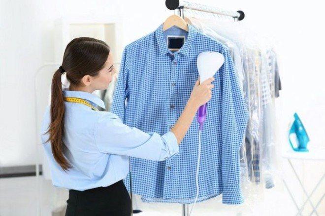 Обработка паром одежды