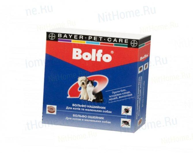 Ошейник «Bolfo»