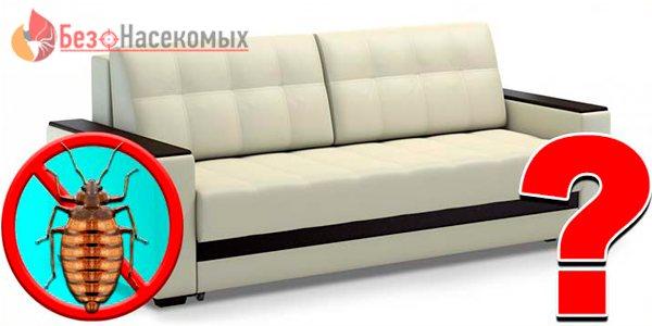 откуда берутся клопы в диване