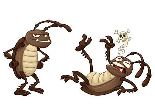 Отравившийся таракан