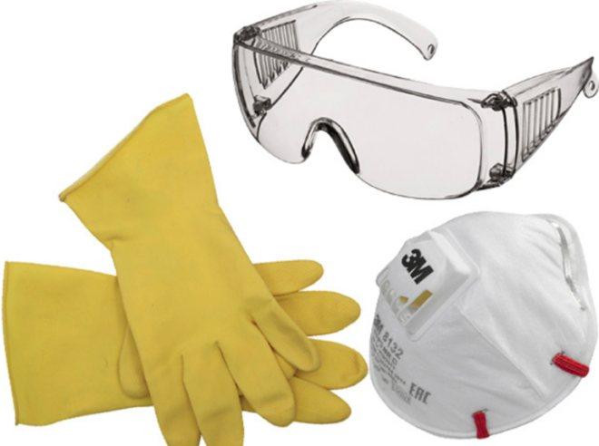 Перчатки очки