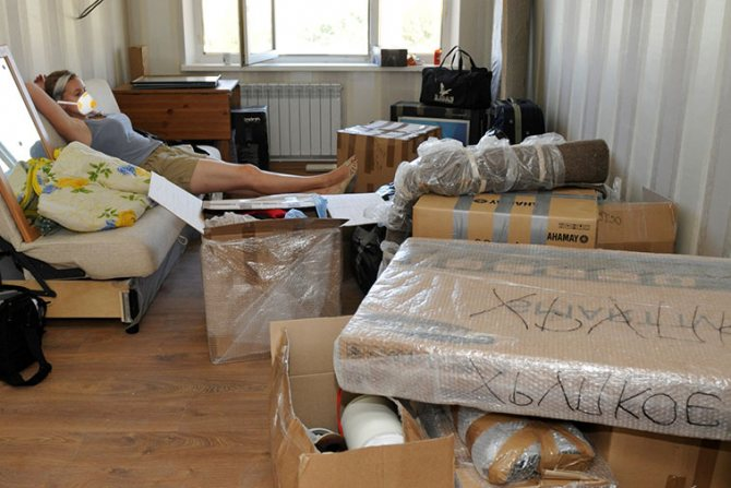 Подготовка квартиры перед дезинсекцией