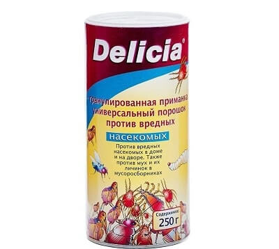 порошок Delicia от блох: фото
