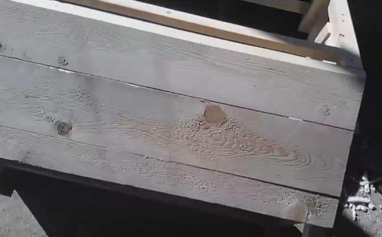 При постройке будки для немецкой овчарки важно правильно подобрать размер лаза.