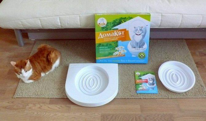 Приспособление для кошачьего туалета