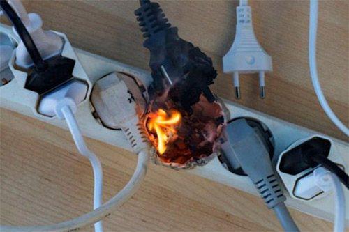проводка пожар