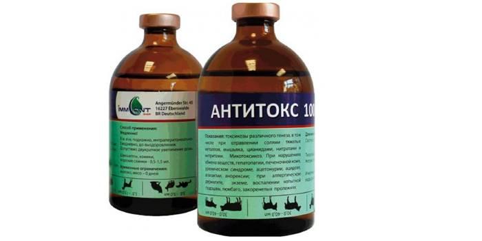 Раствор Антитокс для животных