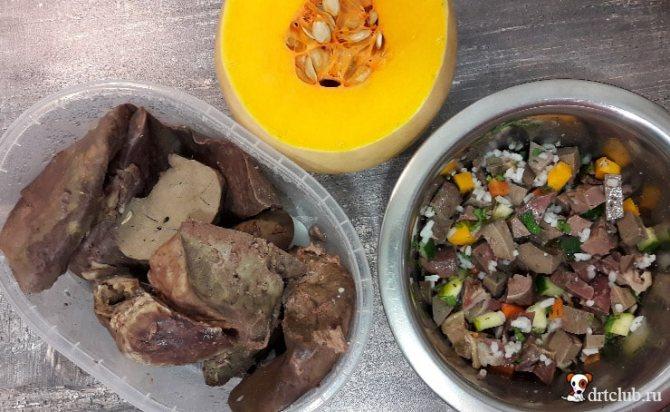 Рецепты еды для собак