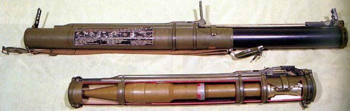 ручной гранатомет муха