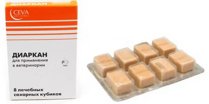 Сахарные кубики Диаркан