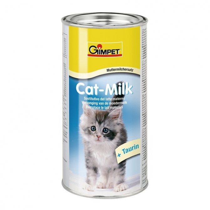 Смесь для котят Gimpet Cat-Milk наиболее популярна