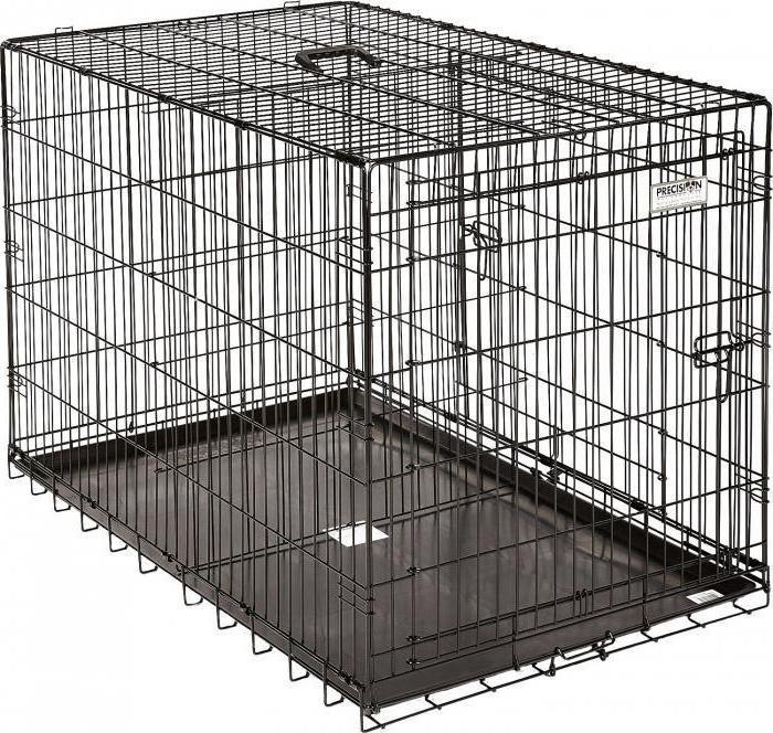 содержание собаки в клетке в квартире