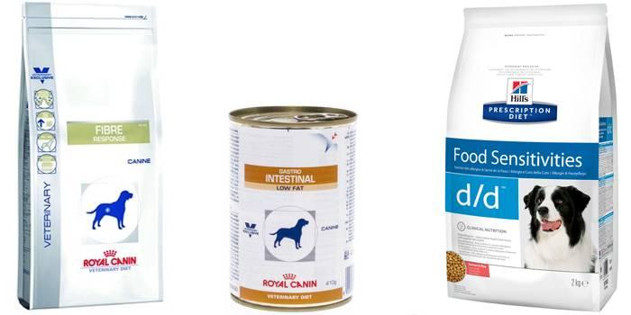Диареи у собак диета
