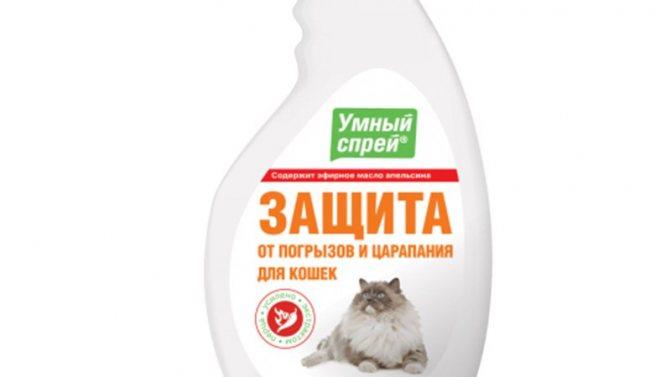 Спреи для отпугивания кошек