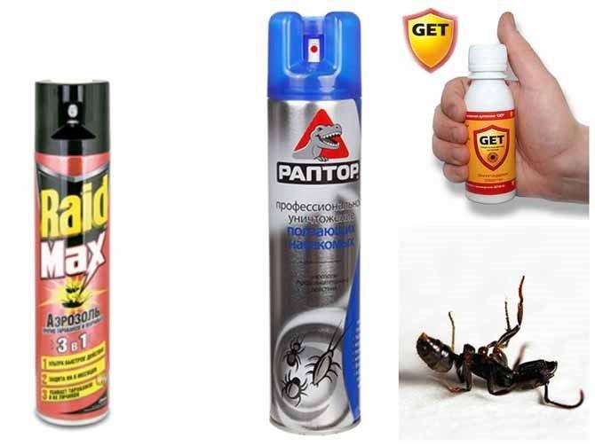 Средства борьбы от муравьев