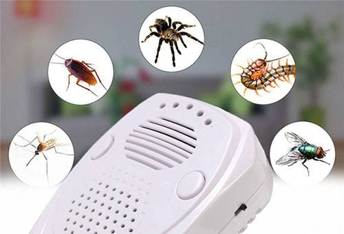 Ультразвуковой отпугиватель насекомых