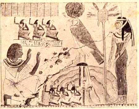 В гробницах были найдены большое количество мумий животных