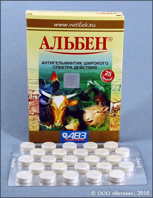 Ветеринарный препарат Альбен C