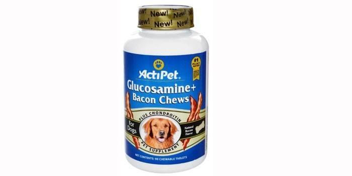 Витамины для собак Actipet Glucosamine