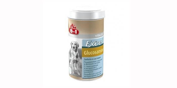 Витамины для собак Excel Glucosamine