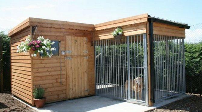 Вольеры для собак: уютное жилище для любимого питомца