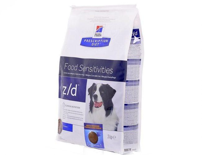 Z/d сухой корм для собак